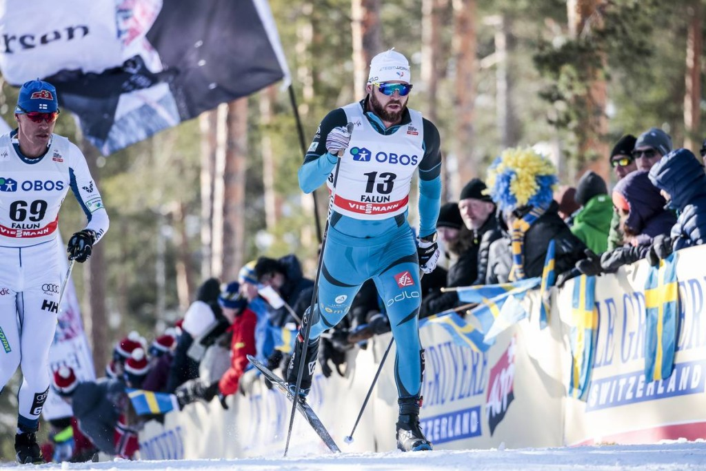 FIS world cup cross-country, mass men, Falun (SWE)