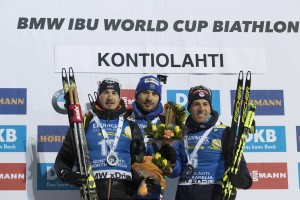 IBU world cup biathlon, sprint men, Kontiolahti (FIN)