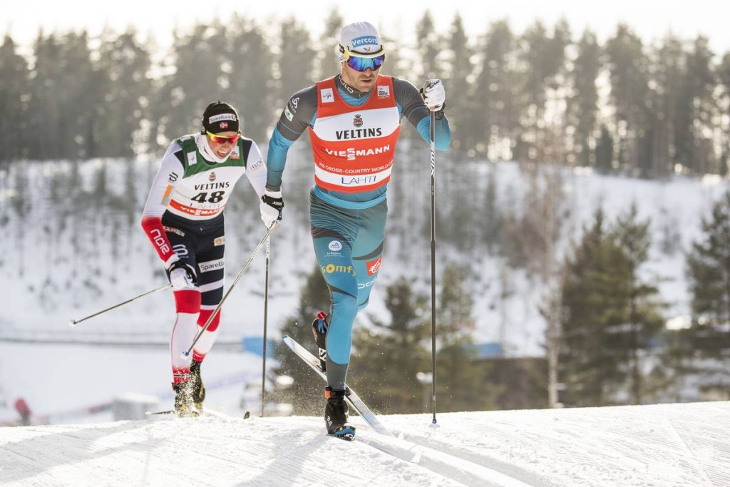 FIS world cup cross-country, 15km men, Lahti (FIN)