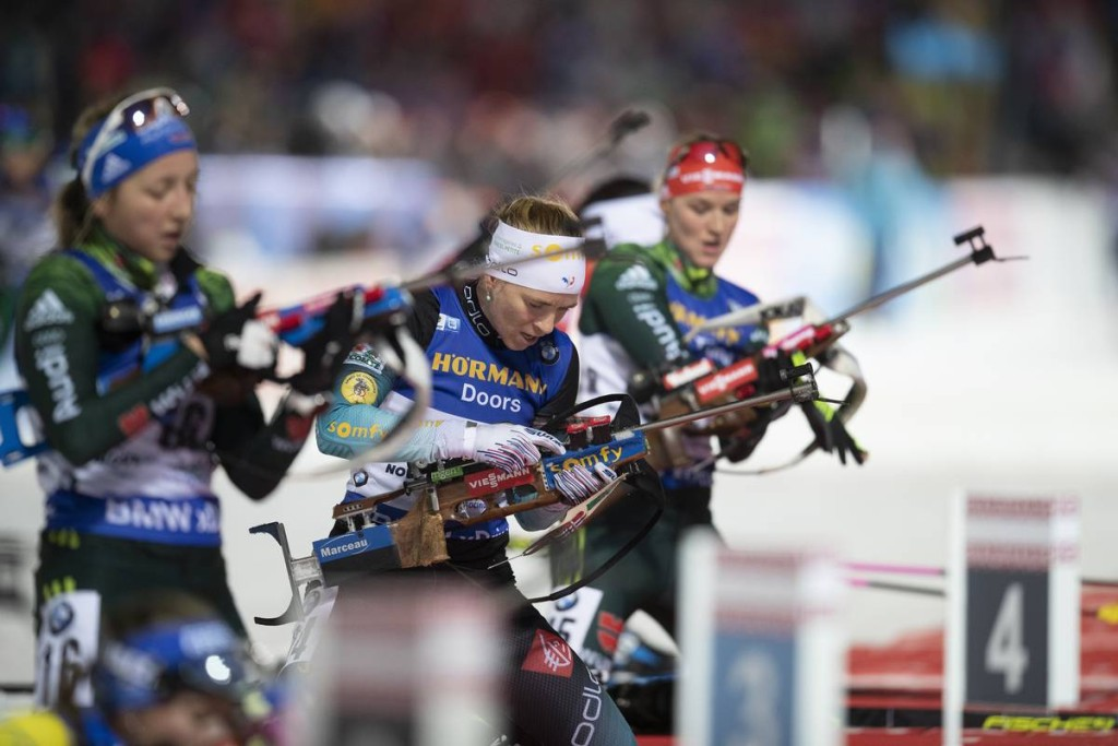 IBU world cup biathlon, pursuit women, Nove Mesto (CZE)