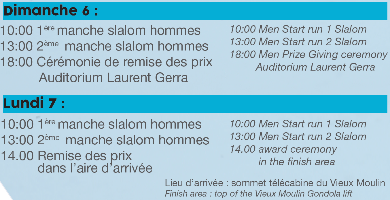 Programme Val Cenis