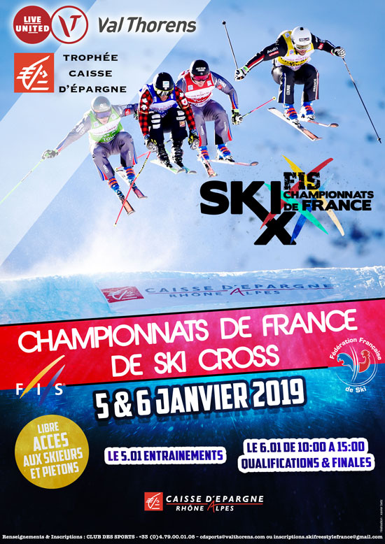 Championnats de France Ski Cross