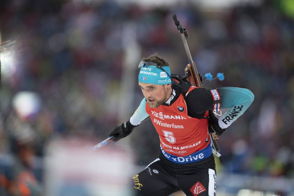 IBU world cup biathlon, pursuit men, Nove Mesto (CZE)