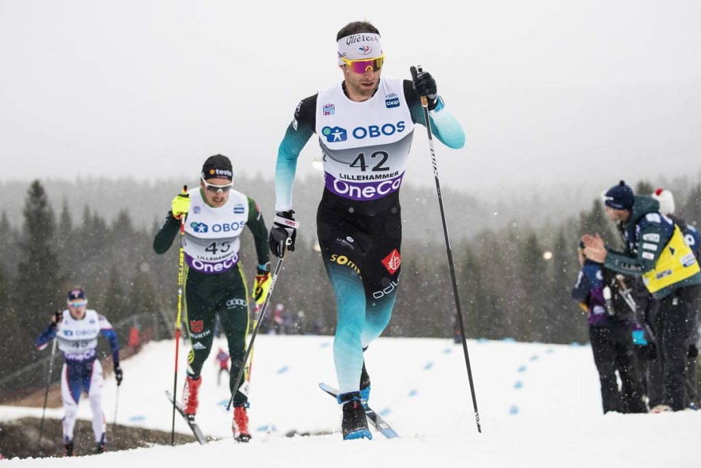 FIS world cup cross-country, pursuit men, Lillehammer (NOR)