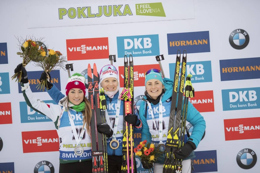 IBU world cup biathlon, sprint women, Pokljuka (SLO)