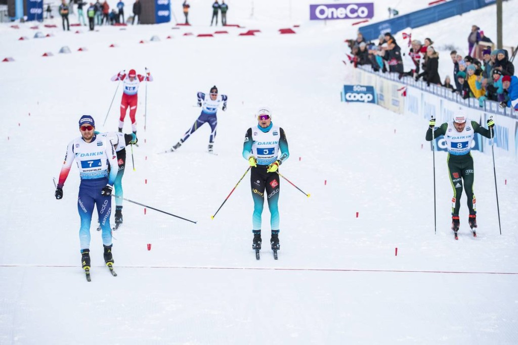 FIS world cup cross-country, 4x10km men, Beitostolen (NOR)