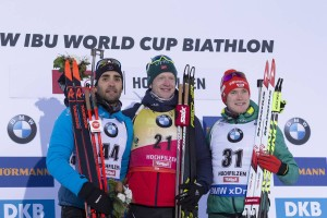 IBU world cup biathlon, sprint men, Hochfilzen (AUT)