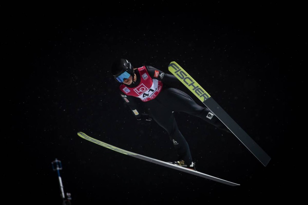 FIS world cup ski jumping ladies, training, Lillehammer (NOR)