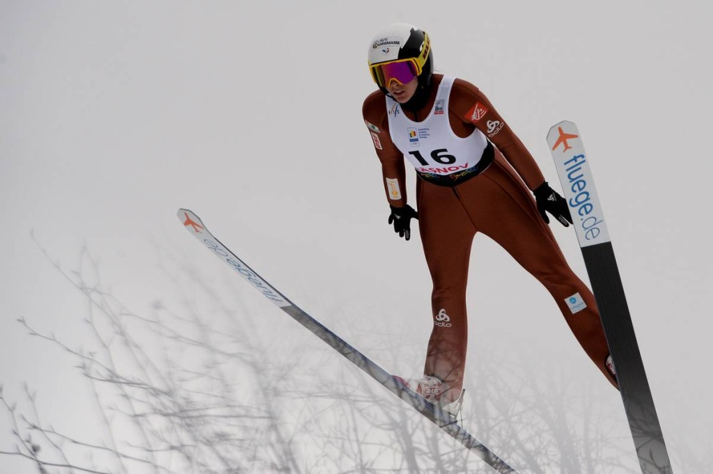 FIS world cup ski jumping ladies, individual HS97, Rasnov (ROU)