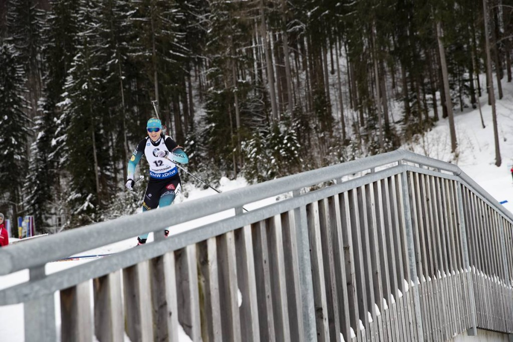 IBU world cup biathlon, mass women, Ruhpolding (GER)