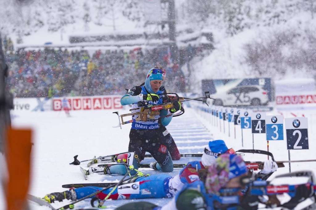 IBU world cup biathlon, relay women, Oberhof (GER)
