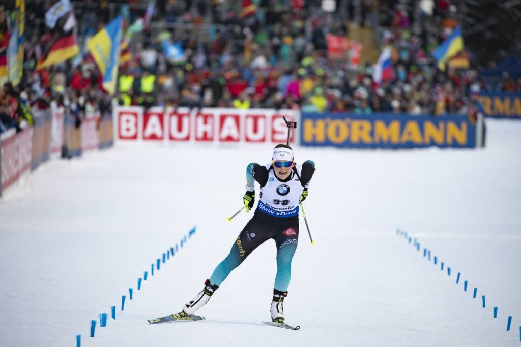 IBU world cup biathlon, sprint women, Ruhpolding (GER)
