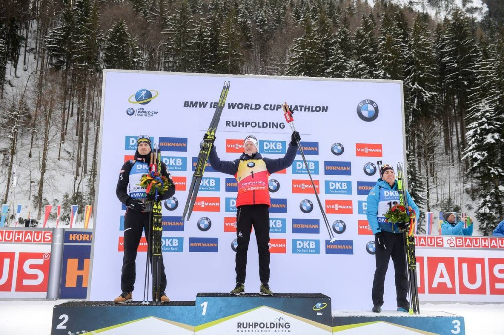IBU world cup biathlon, mass men, Ruhpolding (GER)