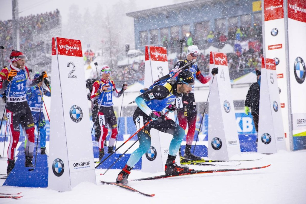 IBU world cup biathlon, pursuit men, Oberhof (GER)