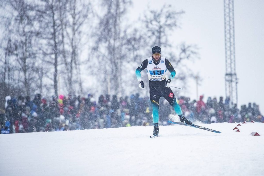 FIS world cup cross-country, 4x10km men, Ulricehamn (SWE)