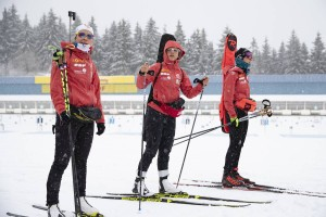 IBU world cup biathlon, training, Oberhof (GER)