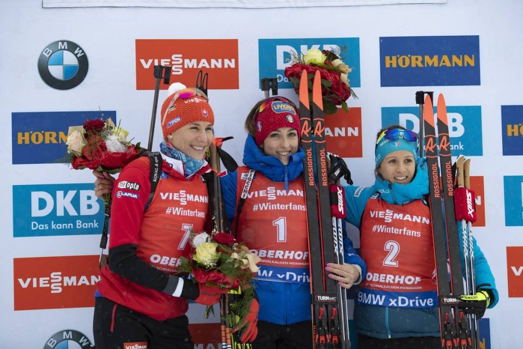 IBU world cup biathlon, pursuit women, Oberhof (GER)