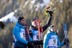 IBU world cup biathlon, sprint men, Antholz (ITA)