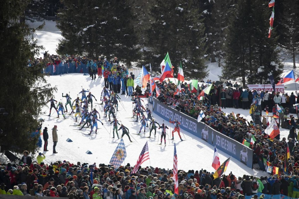 IBU world cup biathlon, mass women, Antholz (ITA)