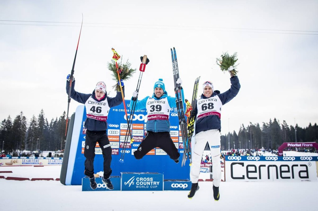 FIS world cup cross-country, 15km men, Ulricehamn (SWE)