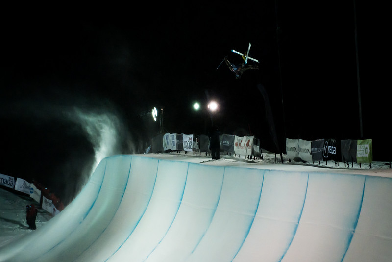 FIS Freeski World Cup - Calgary CAN - halfpipe