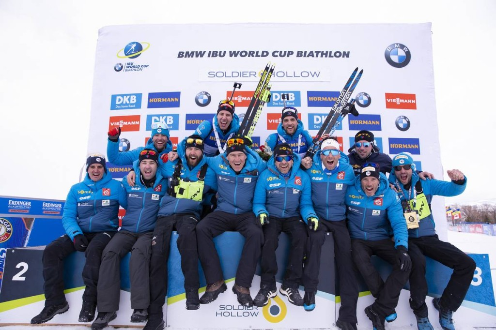 IBU world cup biathlon, pursuit men, Soldier Hollow (USA)