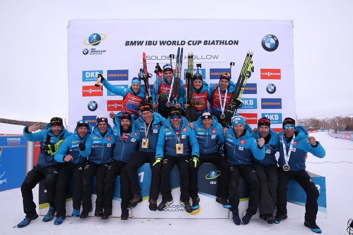 IBU world cup biathlon, relay mixed, Soldier Hollow (USA)