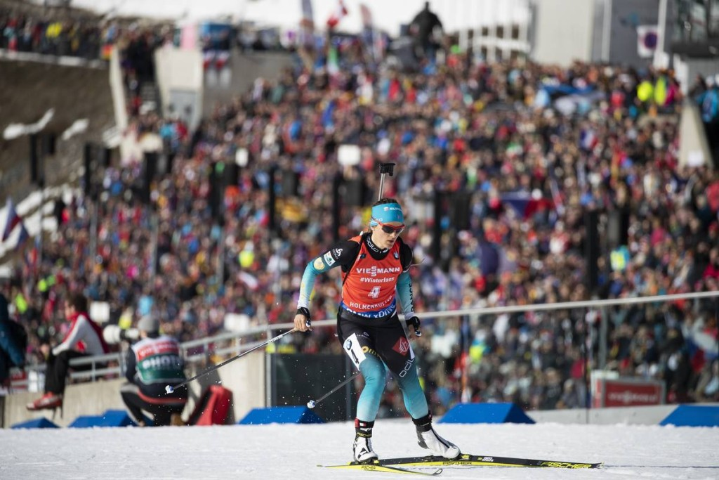 IBU world cup biathlon, pursuit women, Oslo (NOR)