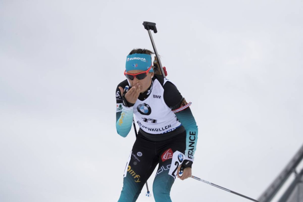 IBU world cup biathlon, mass women, Oslo (NOR)