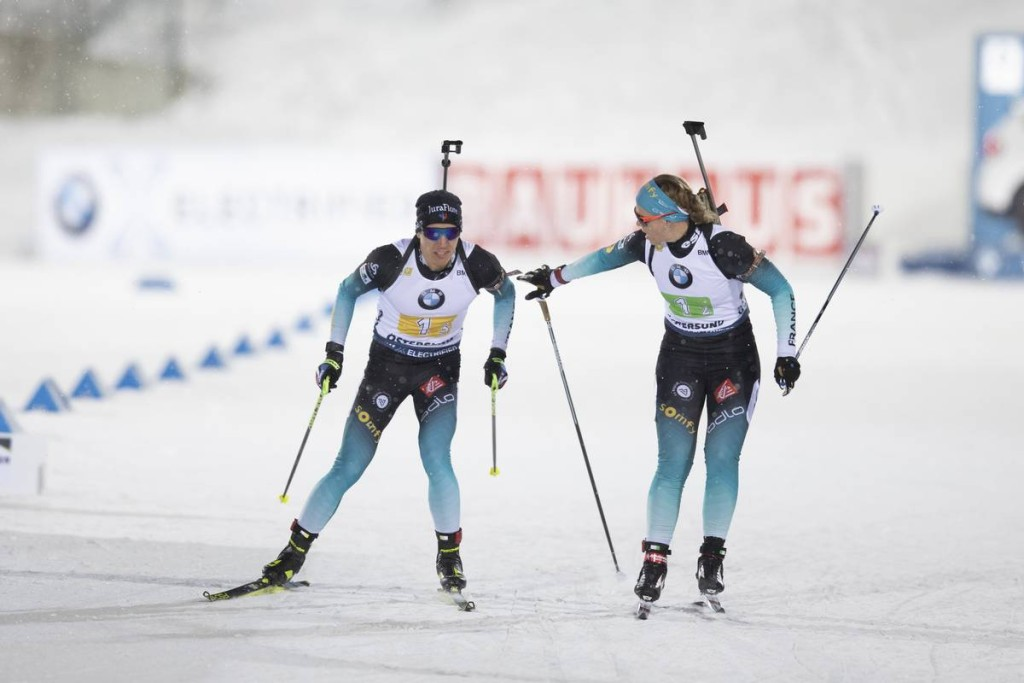 IBU world cup biathlon, relay mixed, Oestersund (SWE)