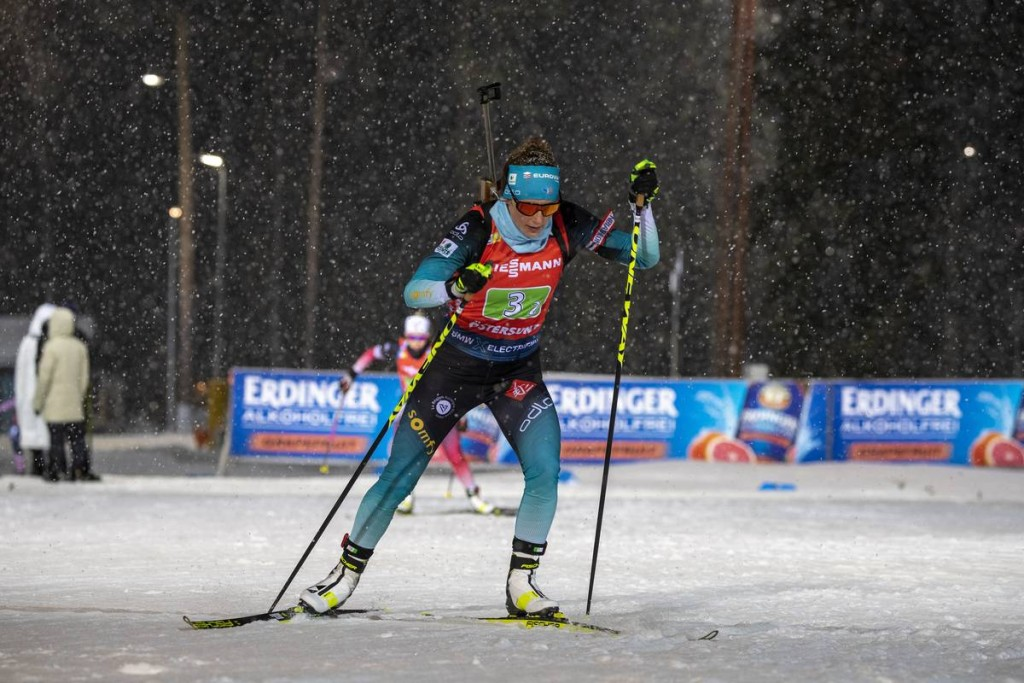 IBU world cup biathlon, relay women, Oestersund (SWE)