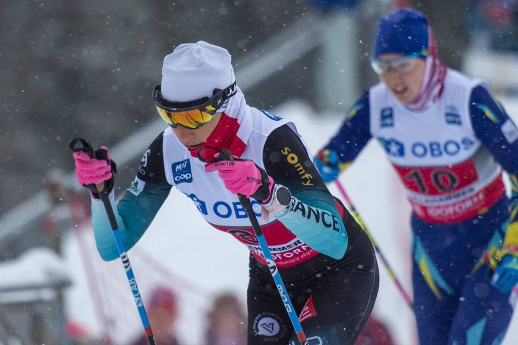 FIS world cup cross-country, 4x5km women, Lillehammer (NOR)
