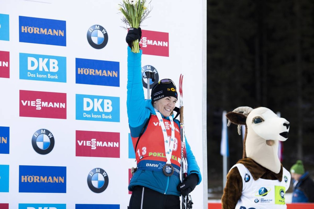 IBU world cup biathlon, mass women, Pokljuka (SLO)