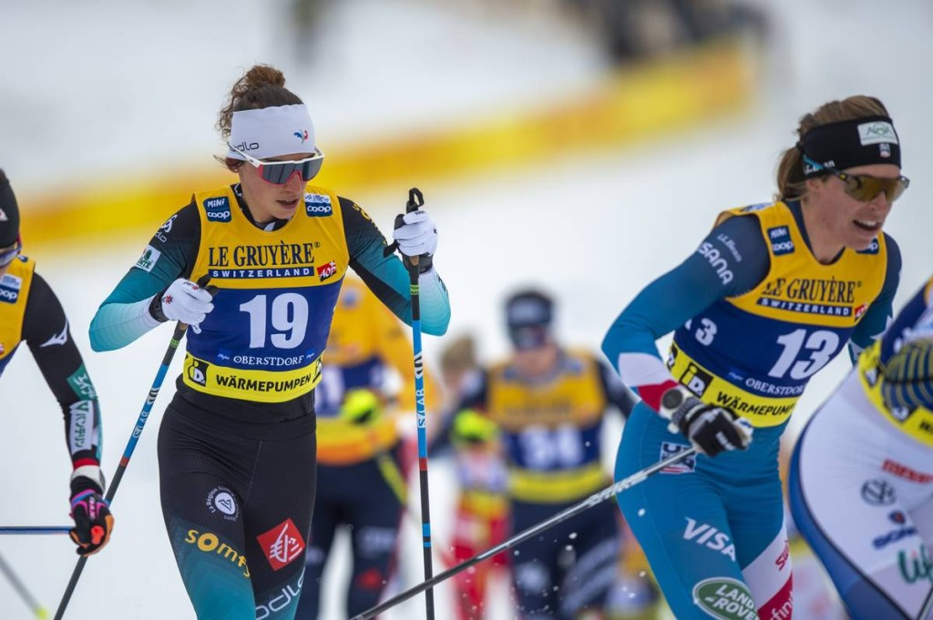 FIS world cup cross-country, skiathlon women, Oberstdorf (GER)