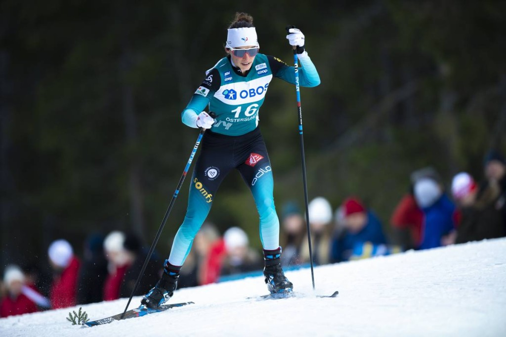 FIS world cup cross-country, 10km women, Oestersund (SWE)