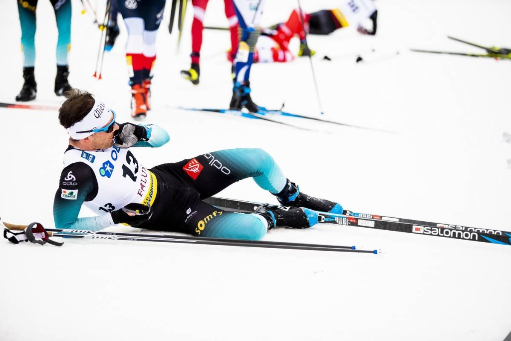 FIS world cup cross-country, 30km men, Falun (SWE)