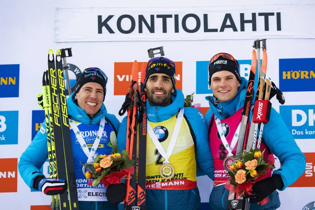 IBU world cup biathlon, pursuit men, Kontiolahti (FIN)