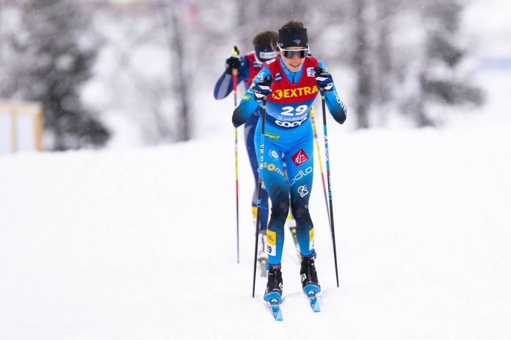 FIS world cup cross-country, tour de ski, mass women, Val Mustair (SUI)