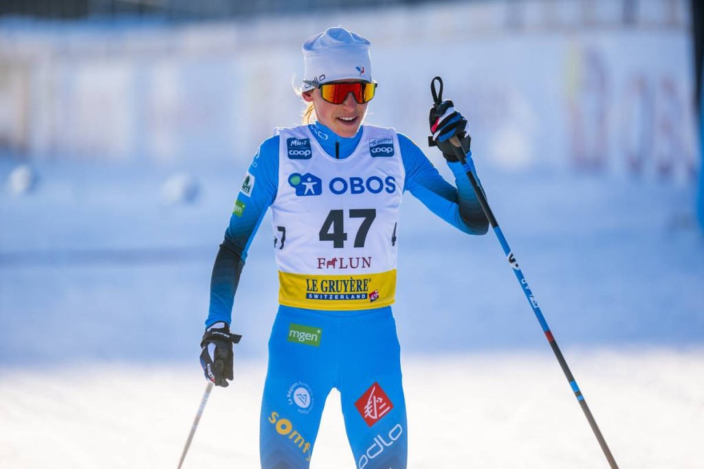 FIS world cup cross-country, 10km women, Falun (SWE)
