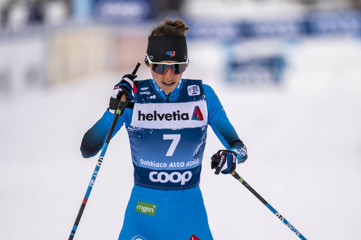 FIS world cup cross-country, tour de ski, pursuit women, Toblach (ITA)