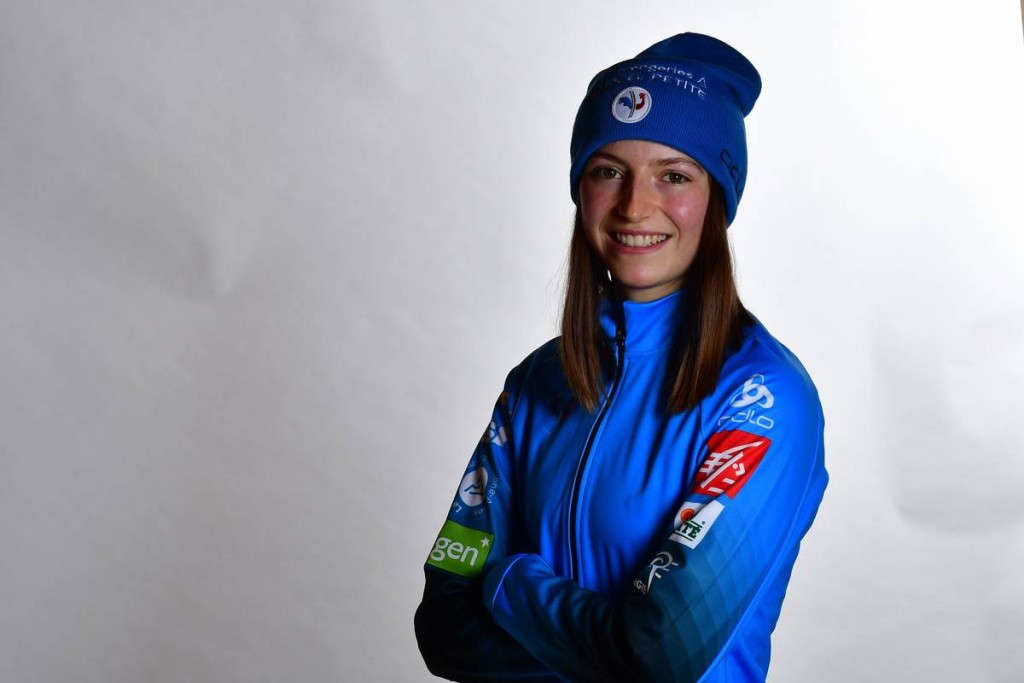 FIS world cup ski jumping women, photoshooting, Ramsau (AUT)